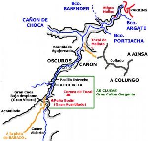 Primera parte del Descenso del Cañon del Río Vero